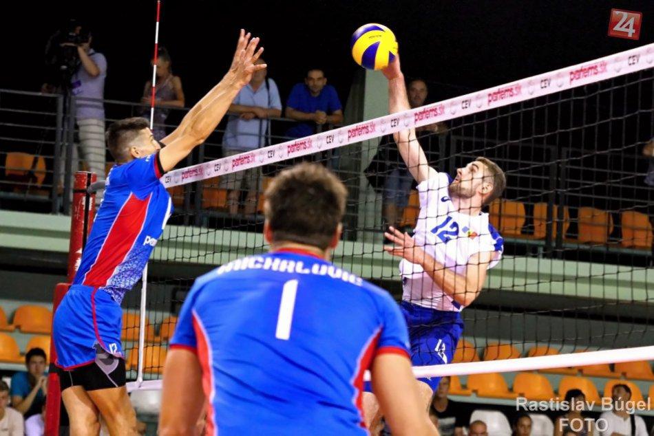 Ilustračný obrázok k článku Kvalifikácia na ME vo volejbale: Slováci v Nitre zdolali Moldavsko, FOTO a VIDEO