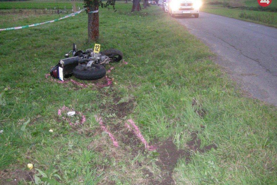 Ilustračný obrázok k článku Tragická nehoda neďaleko Ružomberka: Motorkár (†24) nezvládol riadenie! FOTO z miesta