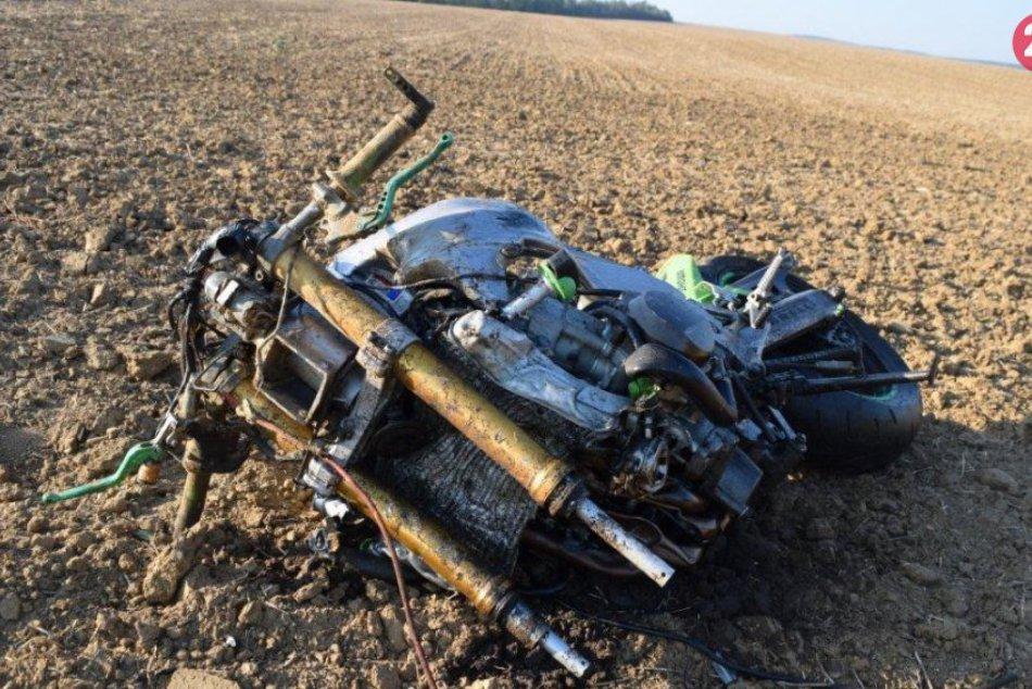 Ilustračný obrázok k článku Neďaleko Lučenca havaroval motocyklista: Zrazil sa s lesnou zverou