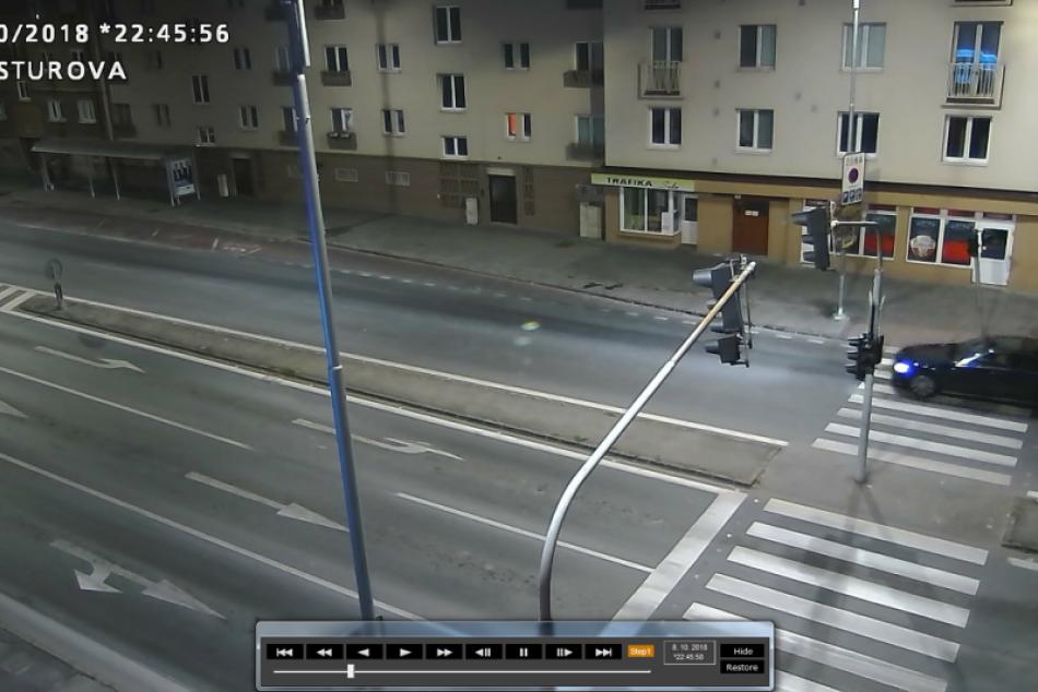 Ilustračný obrázok k článku Polícia žiada svedka nehody na Štúrovej o pomoc: Poskytla kamerové zábery, FOTO
