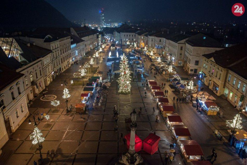 Ilustračný obrázok k článku Lákadlá Banskobystrických Vianoc? Trhy, 2 ohňostroje aj bohatý PROGRAM
