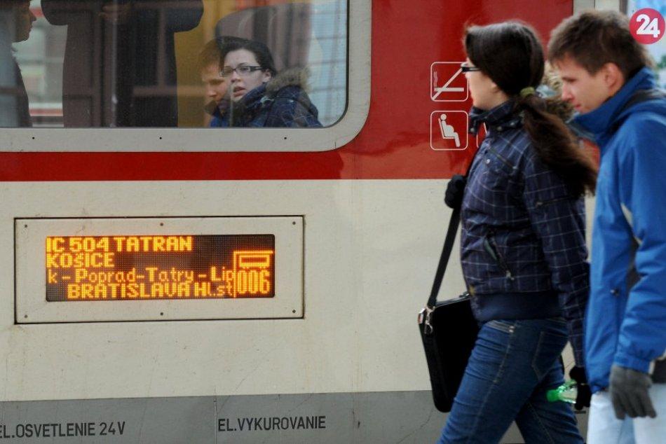 Ilustračný obrázok k článku Trať Poprad - Lučivná sa ide rekonštruovať vo veľkom: Rýchlosť vlakov sa TAKTO zvýši!