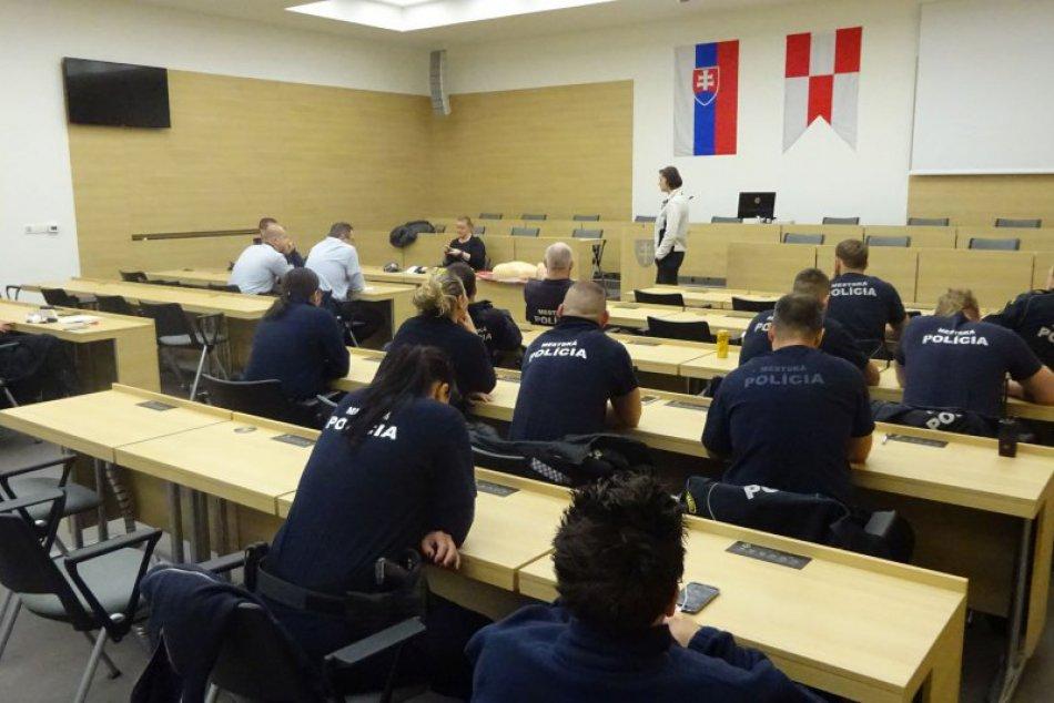 Ilustračný obrázok k článku FOTO: Zvolenskí mestskí policajti absolvovali školenie. Pozrite, v čom sa vzdelávali