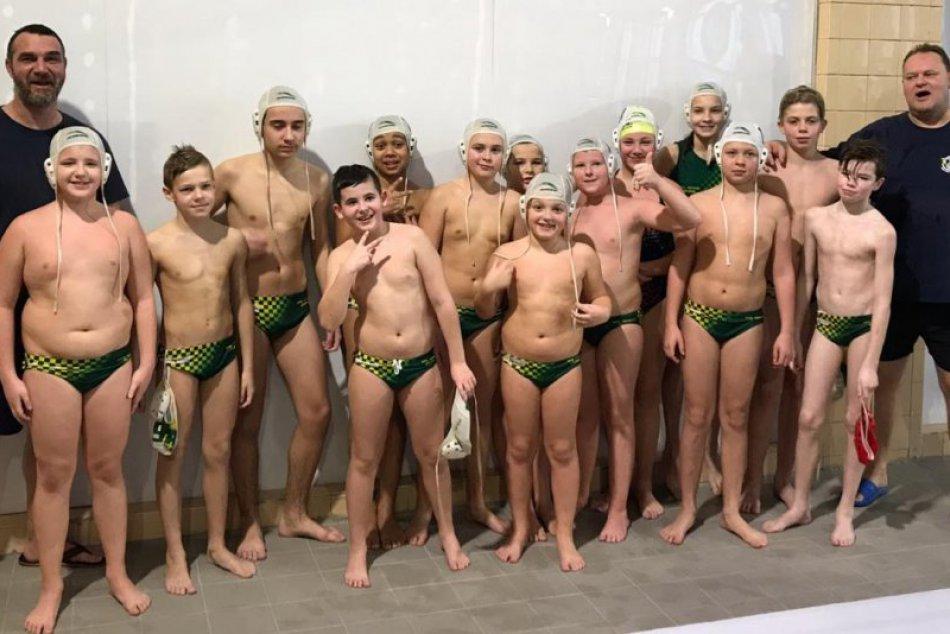 Ilustračný obrázok k článku Mladší žilinskí vodnopólisti v Komárne podali parádny výkon: FOTO a VIDEO z preteku