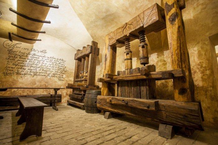 Ilustračný obrázok k článku Malokarpatské múzeum má najväčšiu zbierku vinohradníckych lisov v Európe