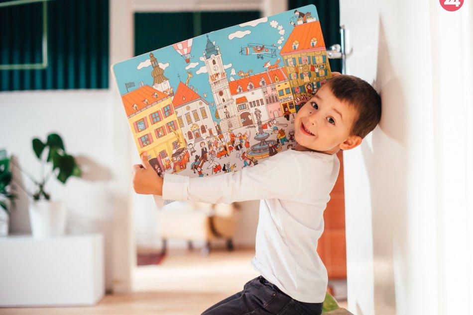 Ilustračný obrázok k článku Hľadáte darček pre svoje ratolesti? Vďaka ilustrovanej knižke spoznajú Bratislavu