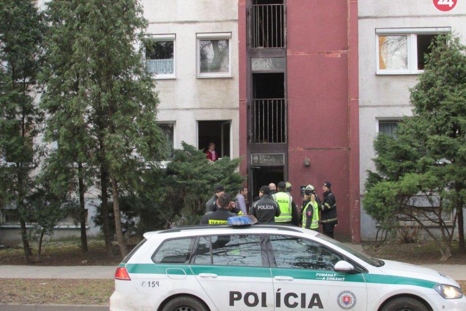 Ilustračný obrázok k článku Požiar bytovky: Polícia začala trestné stíhanie, hovorí o podpaľačstve