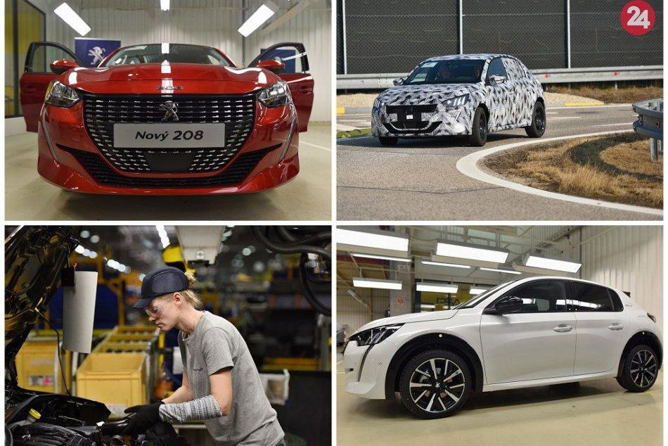 Ilustračný obrázok k článku Nová generácia Peugeot 208: Prvýkrát v histórii Trnavy s plne elektrickým pohonom, FOTO