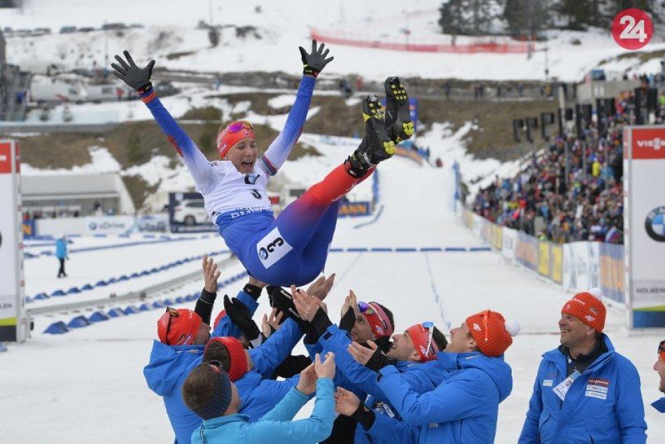 Ilustračný obrázok k článku Kuzminovej rozlúčka s individuálnou kariérou: Vo Svetovom pohári obsadila tretie miesto, FOTO