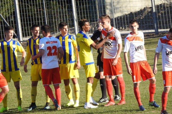 Ilustračný obrázok k článku Tatran doma prehral s Trebišovom: Pozrite si VIDEO zo zápasu
