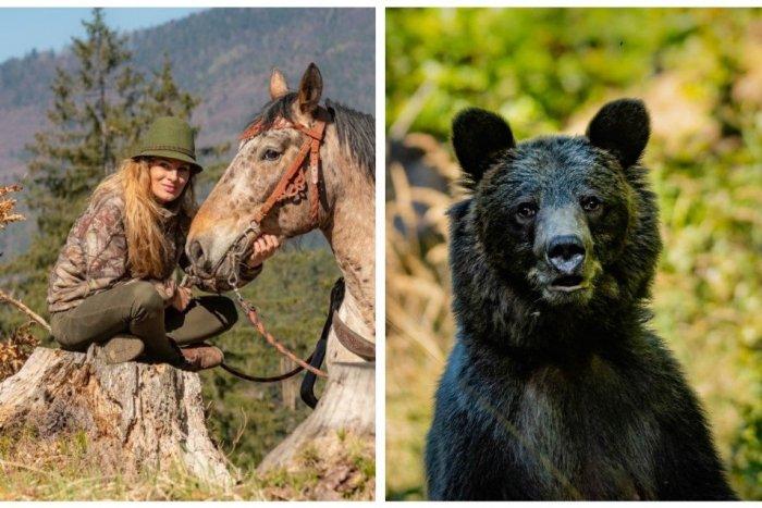 Ilustračný obrázok k článku Zábery Vierky (30) z obce pri Martine, z ktorých tuhne krv: Medveďovi zoči-voči