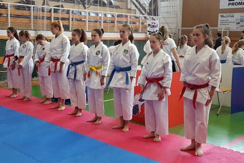 Ilustračný obrázok k článku Sedemnásť medailí pre našich na Karate Grand Prix Žilina 2019, FOTO