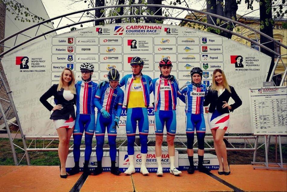 Ilustračný obrázok k článku Medzinárodné preteky kuriérov aj v Poprade: Cyklisti u nás odjazdili 4. etapu