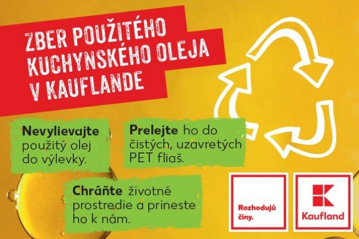 Ilustračný obrázok k článku Vedeli ste, že aj kuchynský olej môžete recyklovať?