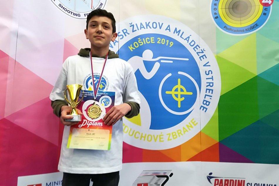 Ilustračný obrázok k článku Najlepší strelec Slovenska je z Dolného Smokovca: Radko sa stal majstrom republiky