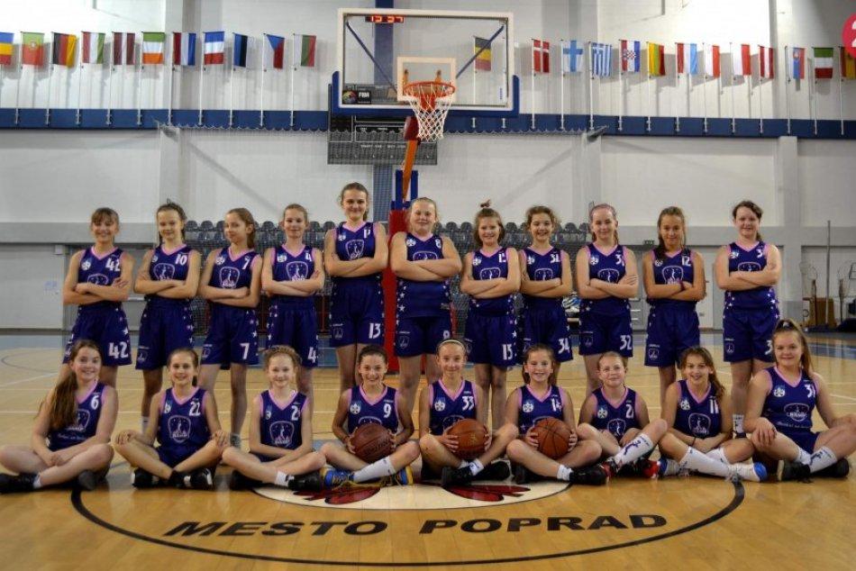 Ilustračný obrázok k článku Staršie minižiačky majú za sebou úspešnú sezónu: Popradské basketbalistky čakajú majstrovstvá SR