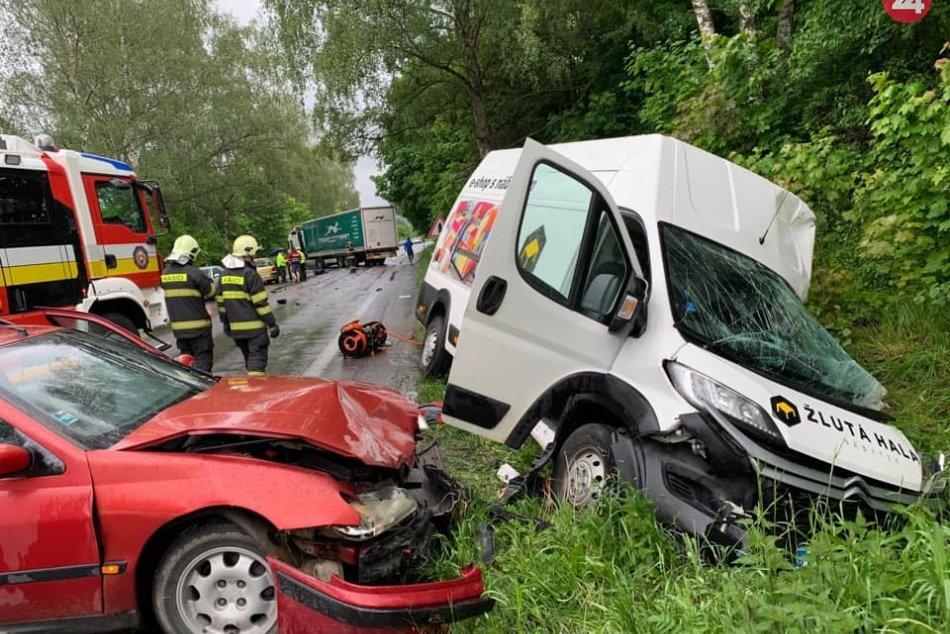Ilustračný obrázok k článku Nehoda medzi Martinom a Žilinou: Zrážka troch áut, ťažko zranený vodič (45), FOTO