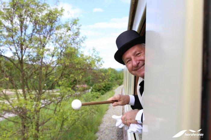 Ilustračný obrázok k článku Horehronský expres absolvoval svoju premiérovú jazdu, FOTO