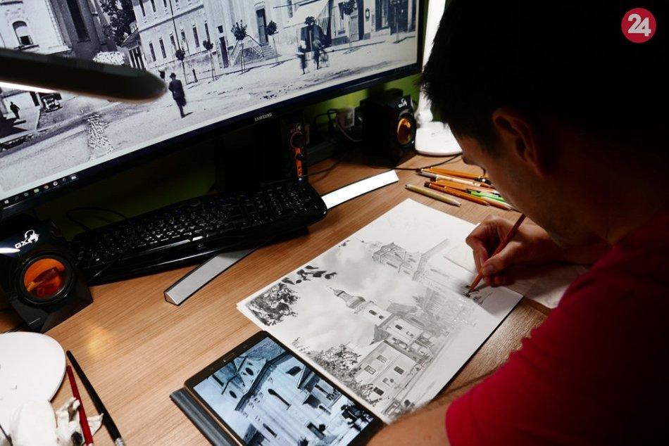 Ilustračný obrázok k článku Šikovné ceruzky Tomáša: Nakreslil aj MATOVIČA! Trvalo mu to vyše 20 hodín, FOTO