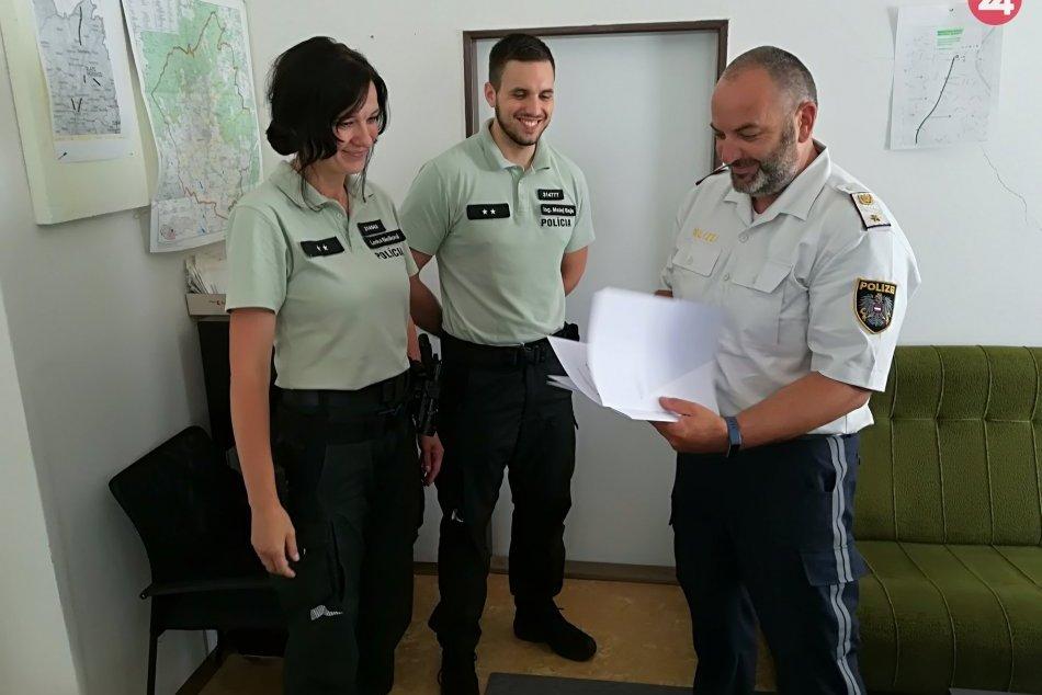 Ilustračný obrázok k článku Veľká pocta pre policajtov z Moraviec: Dostali ocenenie od rakúskych kolegov