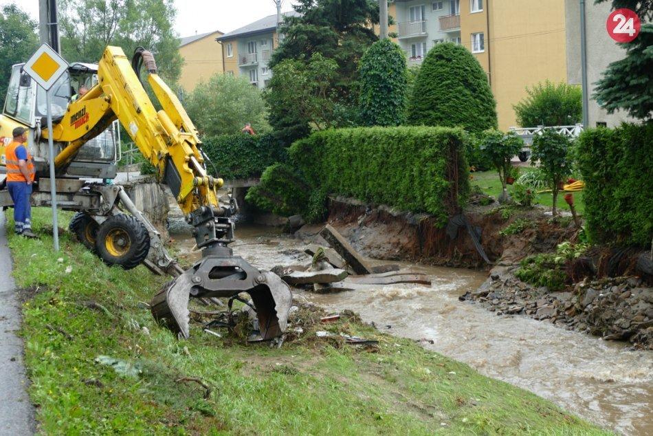 Ilustračný obrázok k článku Dážď dvíha vodné toky v Žilinskom kraji: Kde platí tretí povodňový stupeň?