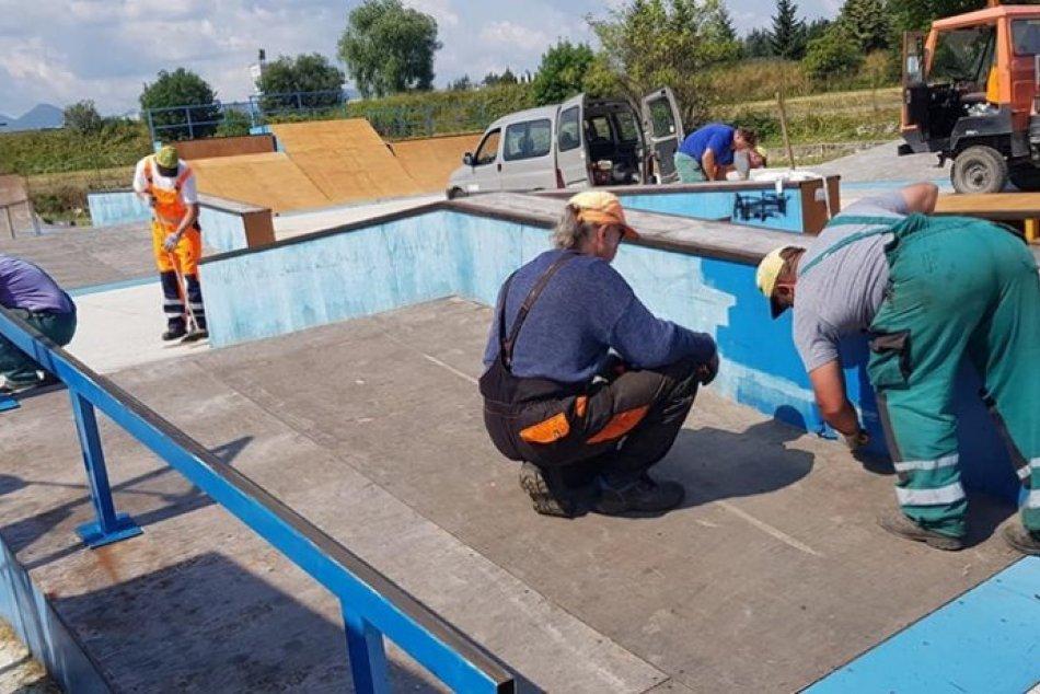 Ilustračný obrázok k článku Skejtpark v Mikuláši prechádza renováciou: Čo všetko sa zmení? FOTO