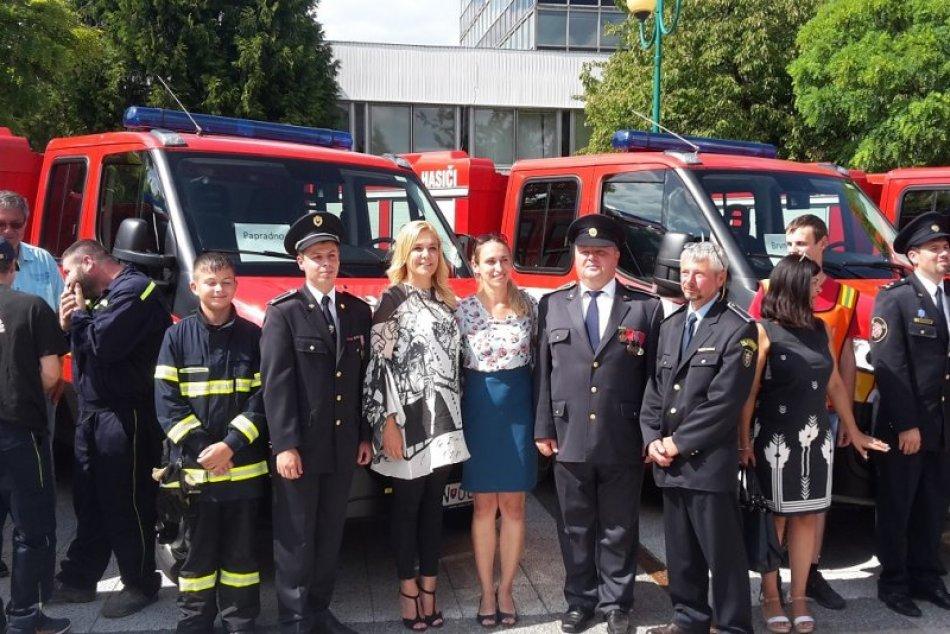 Ilustračný obrázok k článku Papradnianski hasiči sú modernejší: Ľubošov výtvor sa ujal
