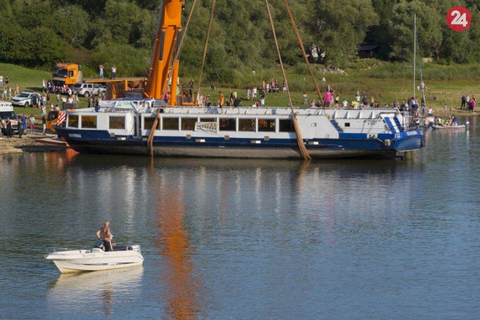 Ilustračný obrázok k článku Výletná loď na Domaši láka: Pozrite si cenník, koľko zaplatíte za plavbu
