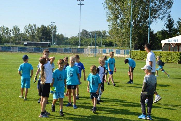 Ilustračný obrázok k článku V Šali sa skončil futbalový tábor: Deti oň prejavili veľký záujem, FOTO