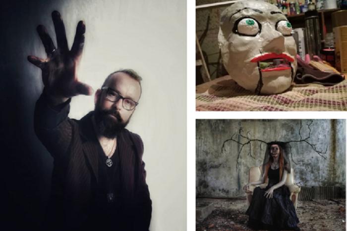 "Ilustračný obrázok k článku Lučenčan Peter (32) má ""hororový"" život: Cez deň pracuje v márnici, po nociach vyrába hrozivé masky!"
