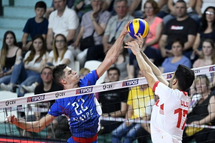 Ilustračný obrázok k článku Volejbalisti na ME: Slováci odštartujú šampionát v piatok trinásteho