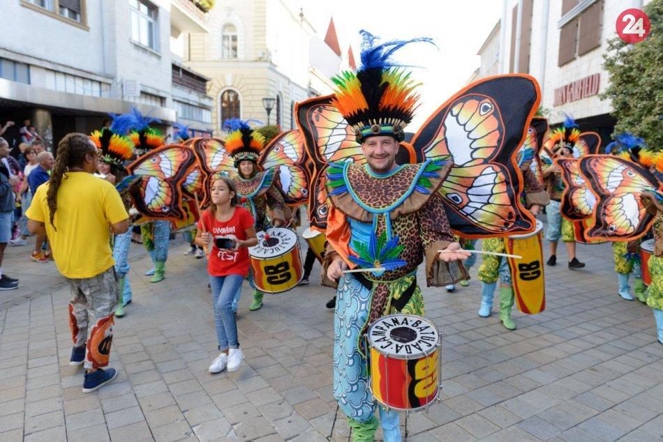 Ilustračný obrázok k článku Horúce rytmy a alegorický sprievod: Nitra zažije dvojdňový festival, PROGRAM