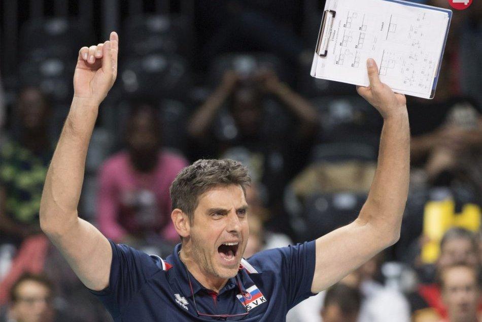 Ilustračný obrázok k článku Koniec volejbalistov na ME: Zo skupiny nepostúpili, tréner hodnotí vystúpenie pozitívne