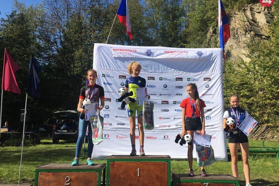 Ilustračný obrázok k článku Senzačný výkon revúckej biatlonistky. Tamarka vybojovala majstrovský titul aj v Česku