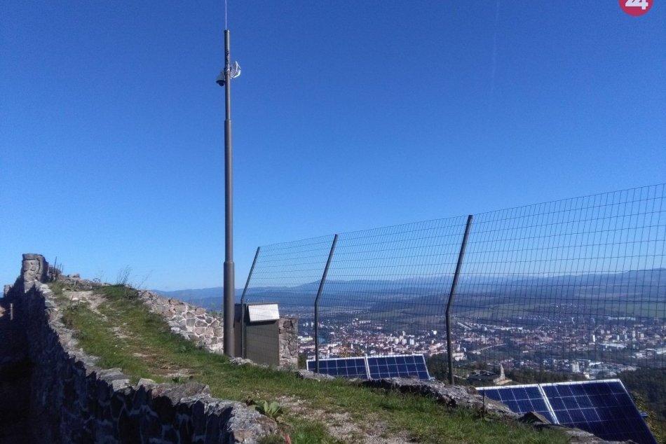 Ilustračný obrázok k článku Novinka na Pustom hrade: Je prvou stredovekou pamiatkou s kamerou Živej panorámy, VIDEO