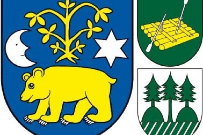 Ilustračný obrázok k článku S medveďom, plťou aj lesom. HLASUJTE, ktorá obec Bystrického okresu má najkrajší erb