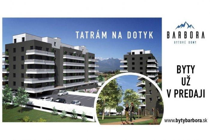 Ilustračný obrázok k článku VPoprade vyrastú bytové domy Barbora