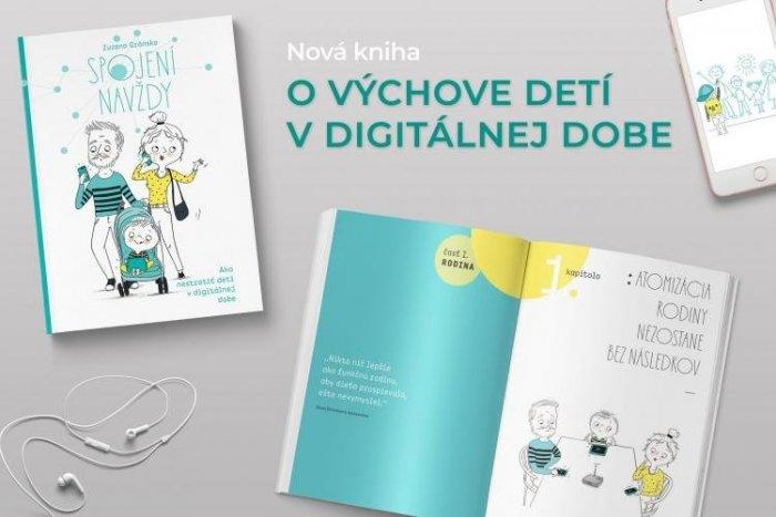 Ilustračný obrázok k článku Kniha Spojení navždy: Všetko, čo by ste mali vedieť o mobiloch a tabletoch v rukách vašich detí