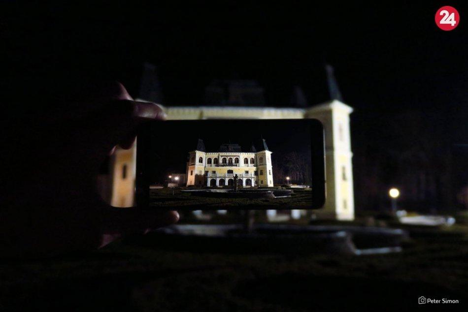 Ilustračný obrázok k článku Aj noc dokáže divy: Známe lokality v Rožňave i okolí po zotmení na FOTKÁCH
