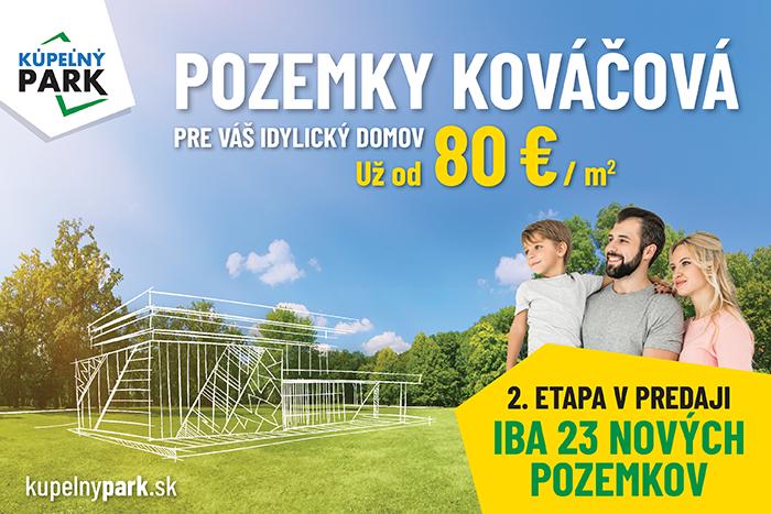 Ilustračný obrázok k článku Pri B. Bystrici teraz získate atraktívne pozemky už do 80 €/m2