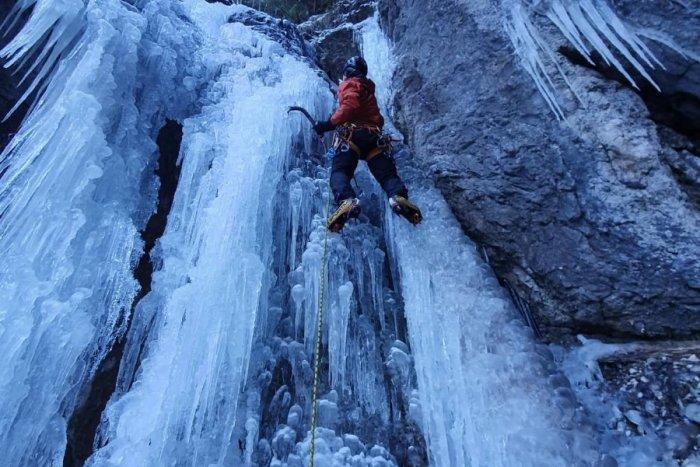 Ilustračný obrázok k článku Poriadny adrenalín v Slovenskom raji: Ľadový maratón bude aj s novinkami