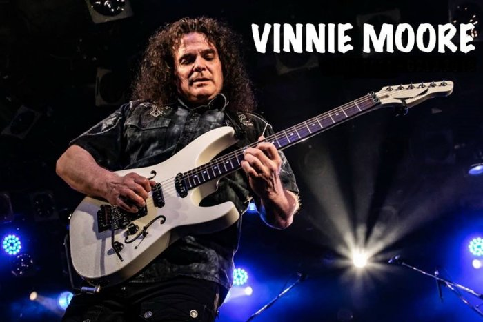 Ilustračný obrázok k článku Muzikantská lahôdka. Legendárny gitarista Vinnie Moore zahrá v Košiciach
