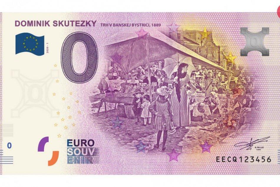 Ilustračný obrázok k článku Trh v Bystrici na unikátnej eurobankovke: Ako sa bude dať kúpiť?