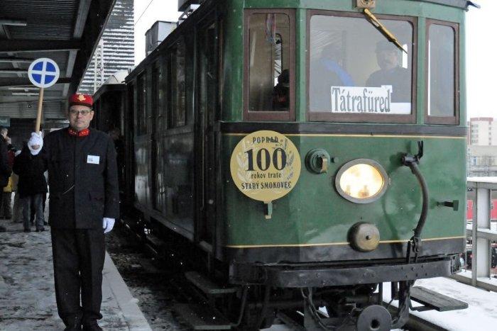 Ilustračný obrázok k článku Historické mašinky na tatranskej trati: Grafikon odchodov počas jarných prázdnin