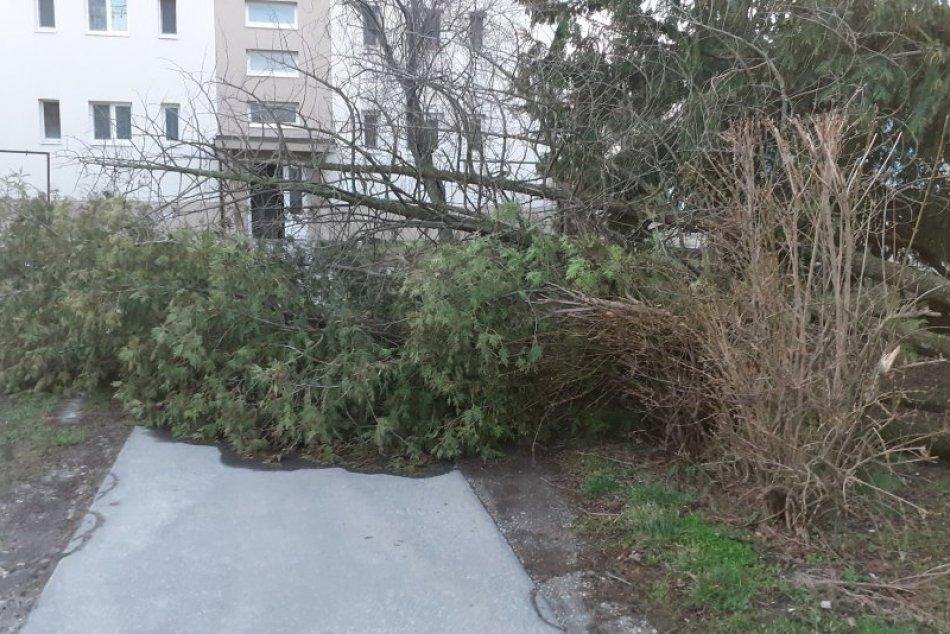 Ilustračný obrázok k článku Na Šaľu sa rúti silný vietor: Môže napáchať veľké škody!