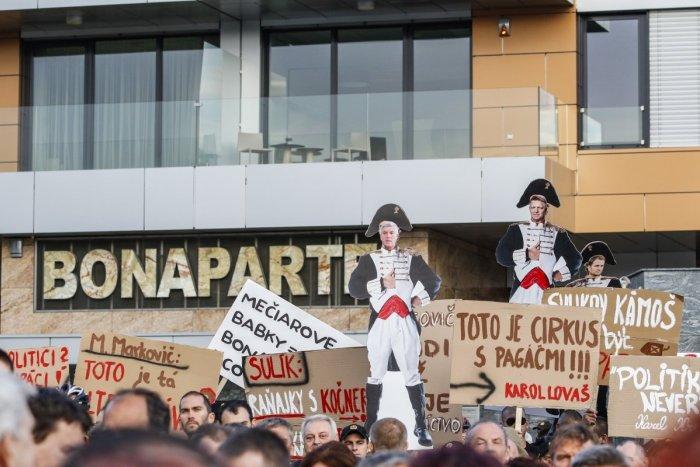Ilustračný obrázok k článku NAKA obvinila Bašternáka za dane v prípade výstavby komplexu Bonaparte