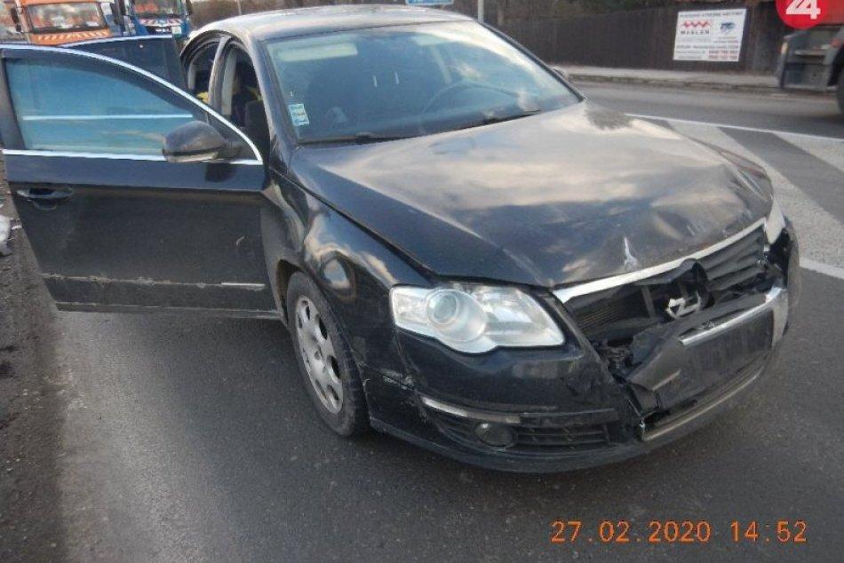 Ilustračný obrázok k článku Za volantom a pod parou: Žena z Brezna účastníčkou hromadnej nehody, FOTO