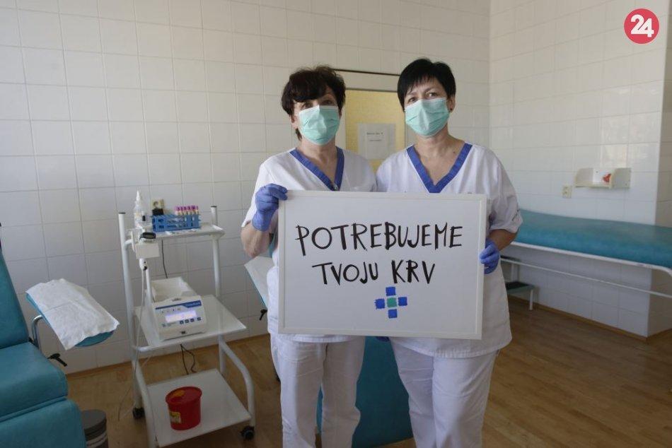 Ilustračný obrázok k článku Topoľčianska nemocnica potrebuje krv: Urgentne vyzýva dobrovoľných darcov