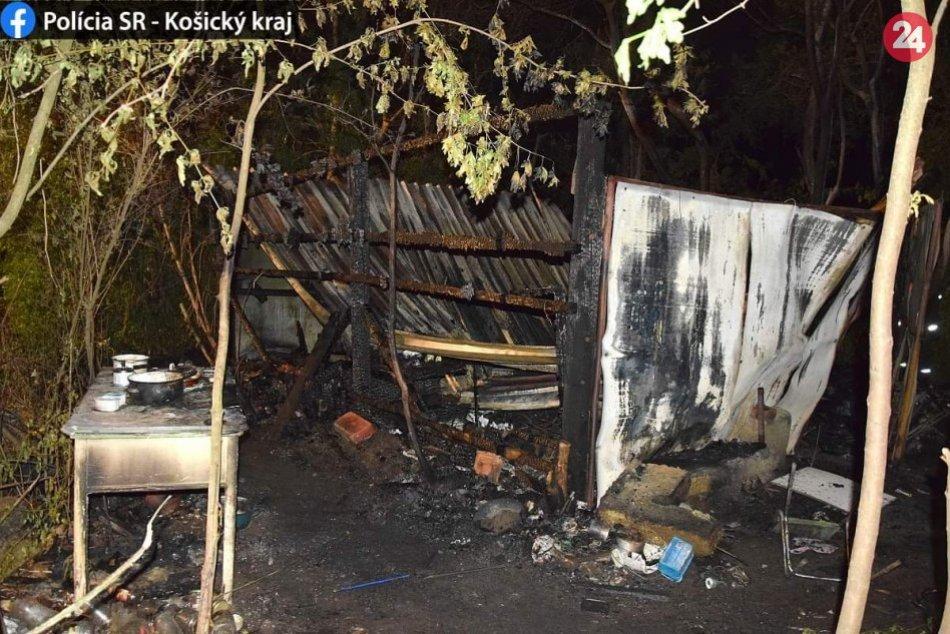 Ilustračný obrázok k článku Požiar chatrče v Rožňave: O život prišli dvaja ľudia, FOTO