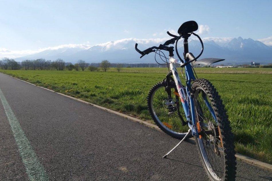 Ilustračný obrázok k článku TIP na cyklotúru: Obľúbený chodník pod Tatrami na FOTKÁCH